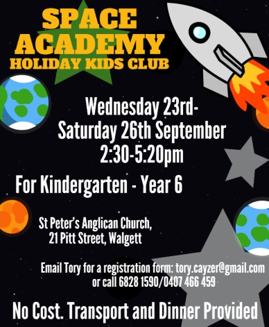 Holiday Kids Club Poster