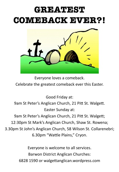 Easter 2016 Services