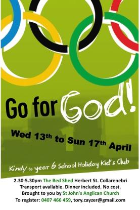 Go For God Colly 2016